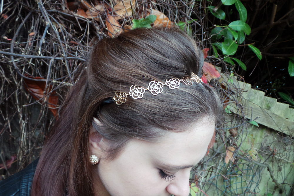 cameliha hair accessories, cameliha hair, hair accessories, gold flower headband, OOTD, outfit post, autumn outfit post, autumn OOTD, A/W14 style, A/W14 Lookbook, Autumn style, autumn fashion, autumn lookbook, autumn accessories, autumn make up look, autumn hair, autumn beauty, autumn blogger, beauty blogger, fashion blogger, fbloggers, bbloggers, lbloggers