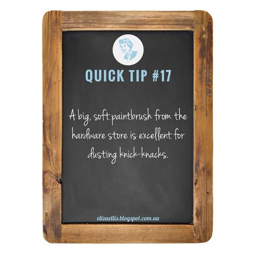 Quick Tip #17 from The Quick Tips Series by Eliza Ellis