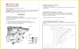 Examen Selectividad de Geografía (PAEG-PAU) 2016