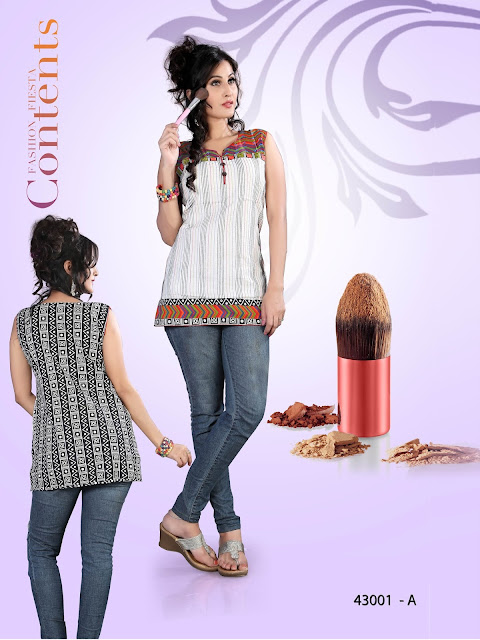 SP NXG Vol-43 – Mix Cotton Printed Kurti Wholesale