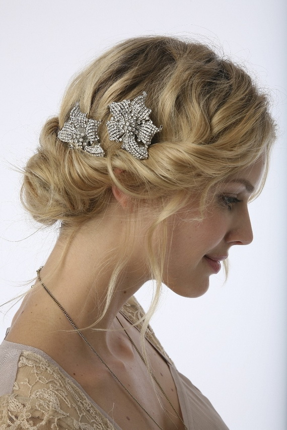 Hair Styles For A Wedding Day
