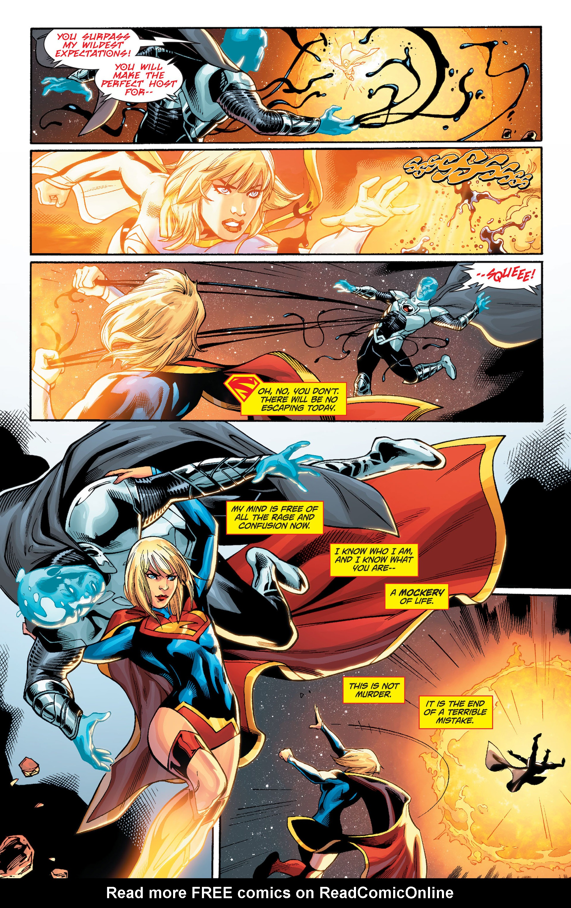Supergirl (2011) Issue #33 #35 - English 20