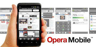 Opera Mobile 11.5.4 Apk web browser for Android