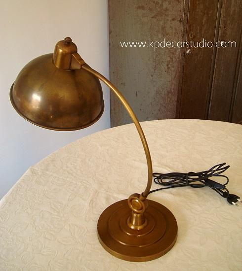 Iluminación vintage en valencia, tienda online de lamparas antiguas de cobre y latón