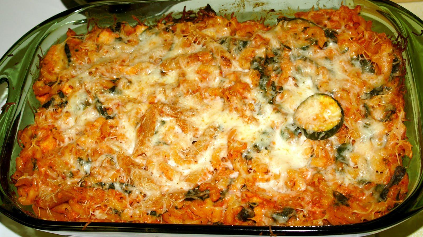 Zucchini Pasta Casserole ~ Rhonda's Corner