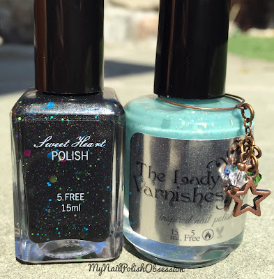 Sweet Heart Polish & The Lady Varnishes Grim Grinning Ghosts Duo