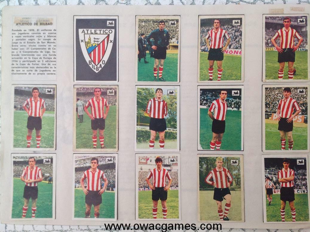 Atlético de Bilbao 1969-70 Chocolates La Cibeles