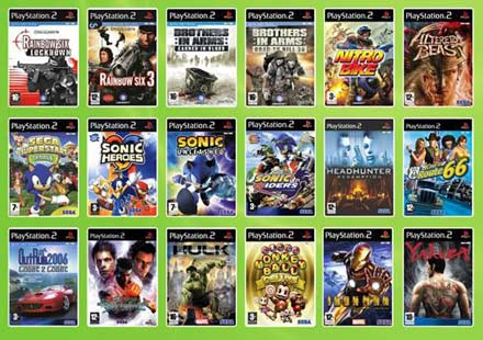 free games and software: all sega games