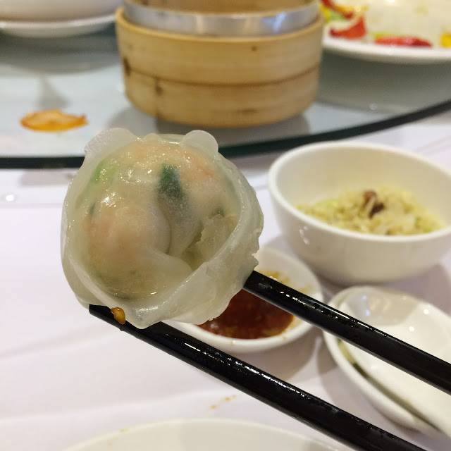 Shrimp dumpling from Cantonese feast, Taipei | Cheesy Pennies