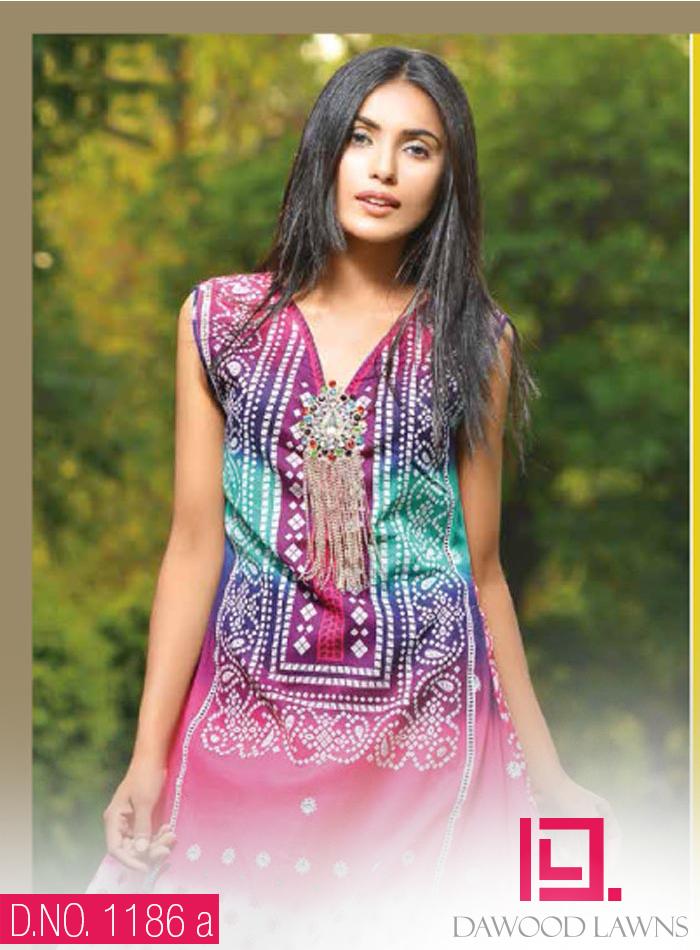 Aalishan chiffon lawn 2014 vol 4 by dawood textiles for Bano market faisalabad dresses