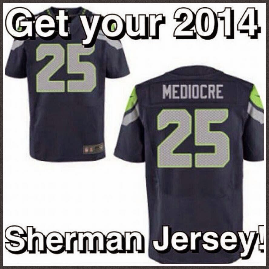get your 2014 sherman jersey!