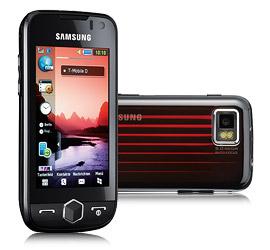 Samsung S8000 Jet, a mobile has touchscreen with get speed