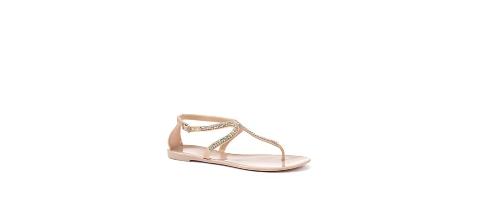 e3a3ac618da6 Forget Moi Knots  New Look - Diamante Embellished Jelly Sandals - Review