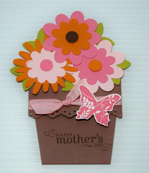 Anneler günü güzel kart örneği