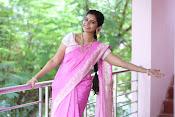Swathi Dazzling in Pink saree-thumbnail-14
