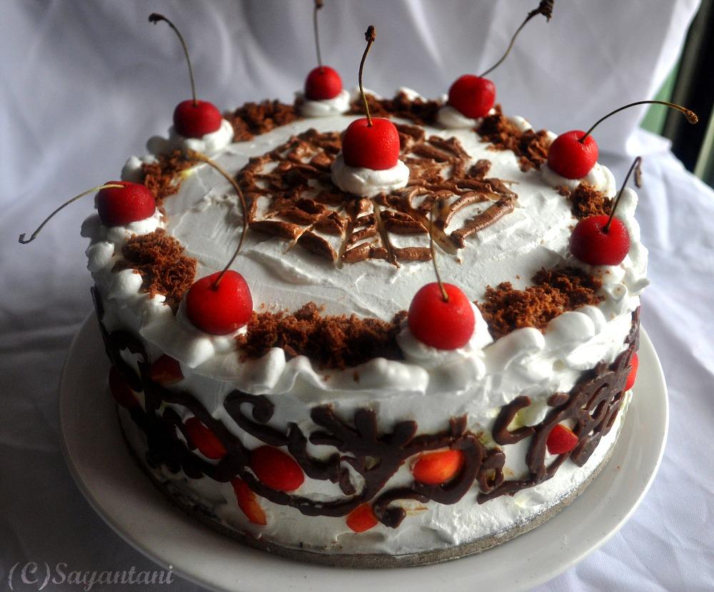 black forest gateau revisited and some decorated cakes a on birthday cake with name renu