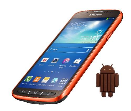 Iniziato l'aggiornamento Android KitKat 4.4.2 per Galaxy S4 Active internazionale