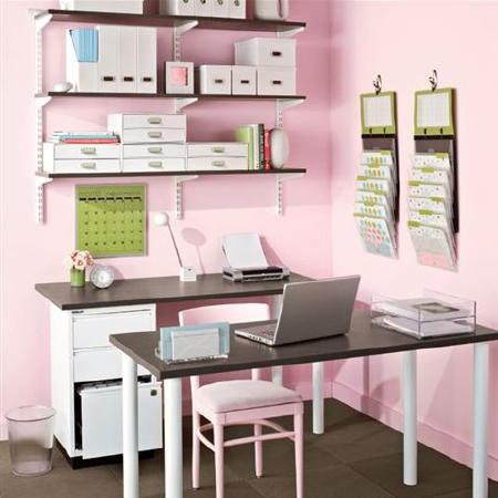 Id es cr atives de bureau domicile d cor de maison for Photos decoration bureau maison