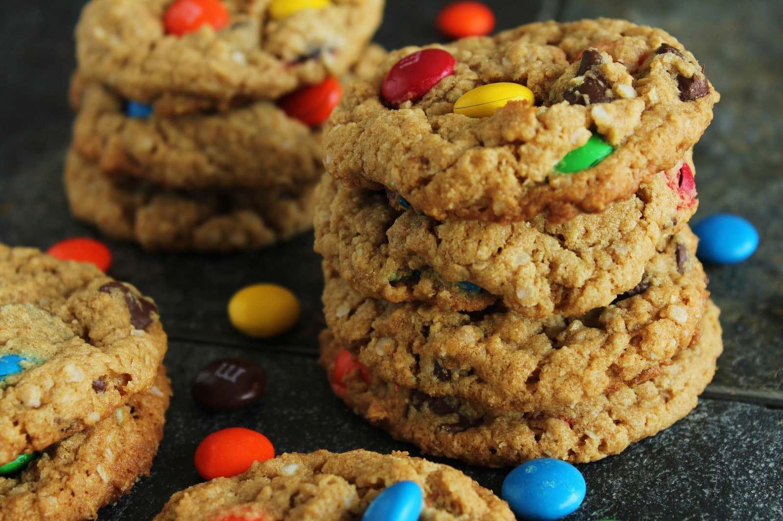 Delicious as it Looks: Quinoa is the New Oat: Monster Cookies