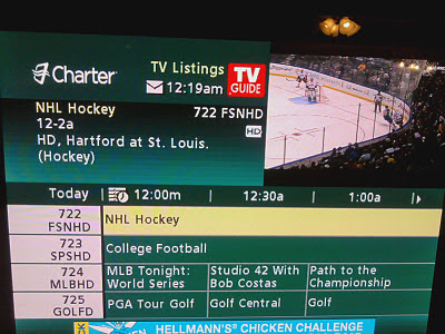EPIC FAIL: Charter Cable Resurrects the Hartford Whalers.