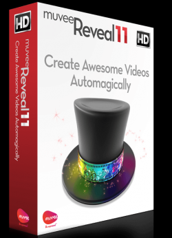 muvee Reveal 11, easy professional looking video editing software, givaway