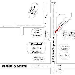 Mapa de Ubicacion Campeonato .