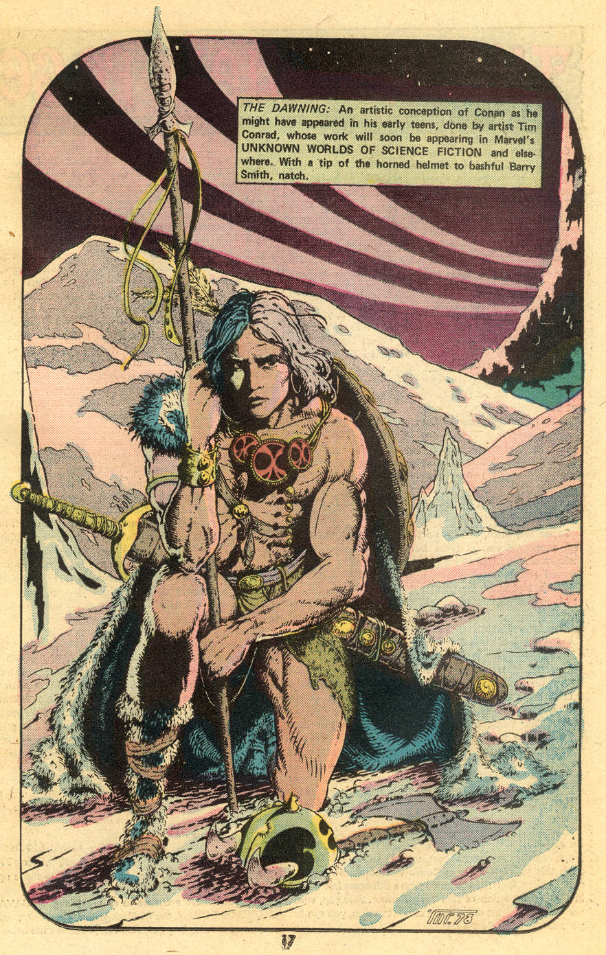 Conan the Barbarian (1970) Issue #47 #59 - English 19