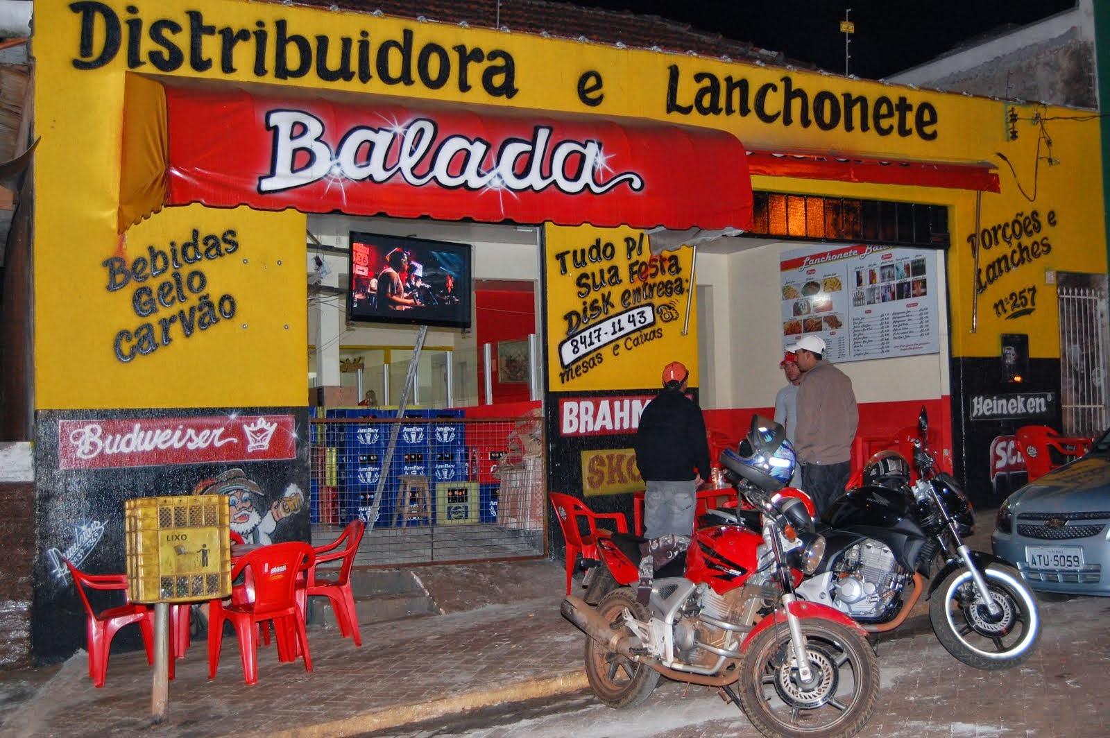 DISTRIBUIDORA E LANCHONETE BALADA..