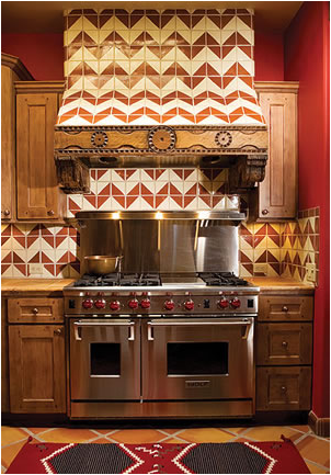 Southwestern kitchen ideas country homes for Native kitchen designs and decors photos