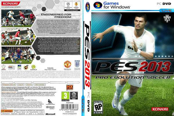 PES 2013 PC DEMO Unlock All Leagues Patch pro evolution soccer 2013 front cover 97004