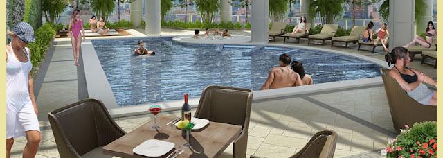 Savoy Newport Manila pool