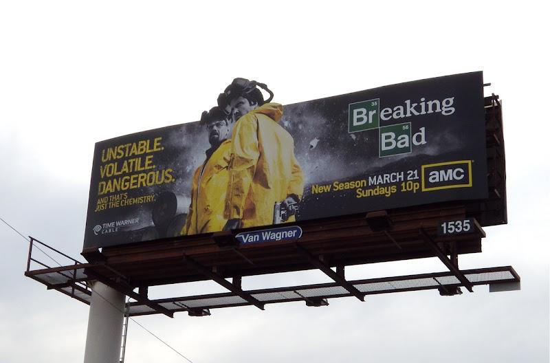 Breaking Bad season 3 billboard