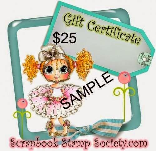 Candy bij 400 volgers Scrapbook Stamp Society