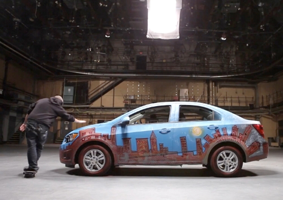 Chevy Sonic Urban Art Car Central Part 1