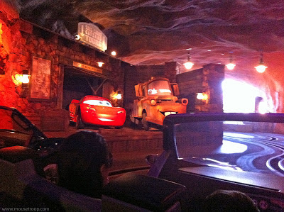 Mater Radiator Springs Racers Lightning DCA Cars Land Carsland