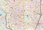 Plano de Madrid. Plano de Toledo mapa callejero madrid