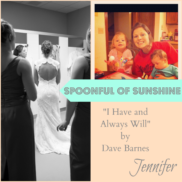 Spoonful of Sunshine I have and Always Will David Barnes