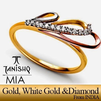 White Gold, Gold and Diamond Jewellery Collection by Indian