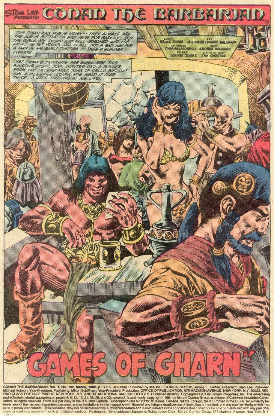 Conan the Barbarian (1970) Issue #132 #144 - English 2