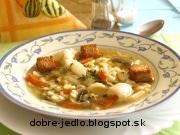Rybacia polievka so zeleninou - recept