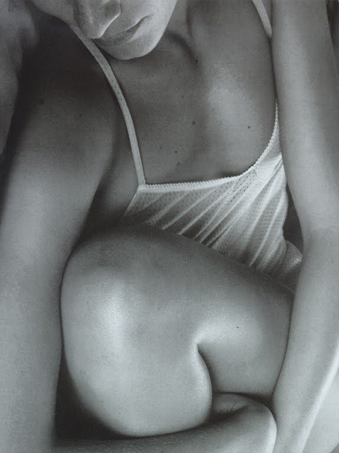 via fashioned by love | Amber Valletta in Vogue Italia July 1997 (photography: Steven Meisel, styling: Camilla Nickerson)