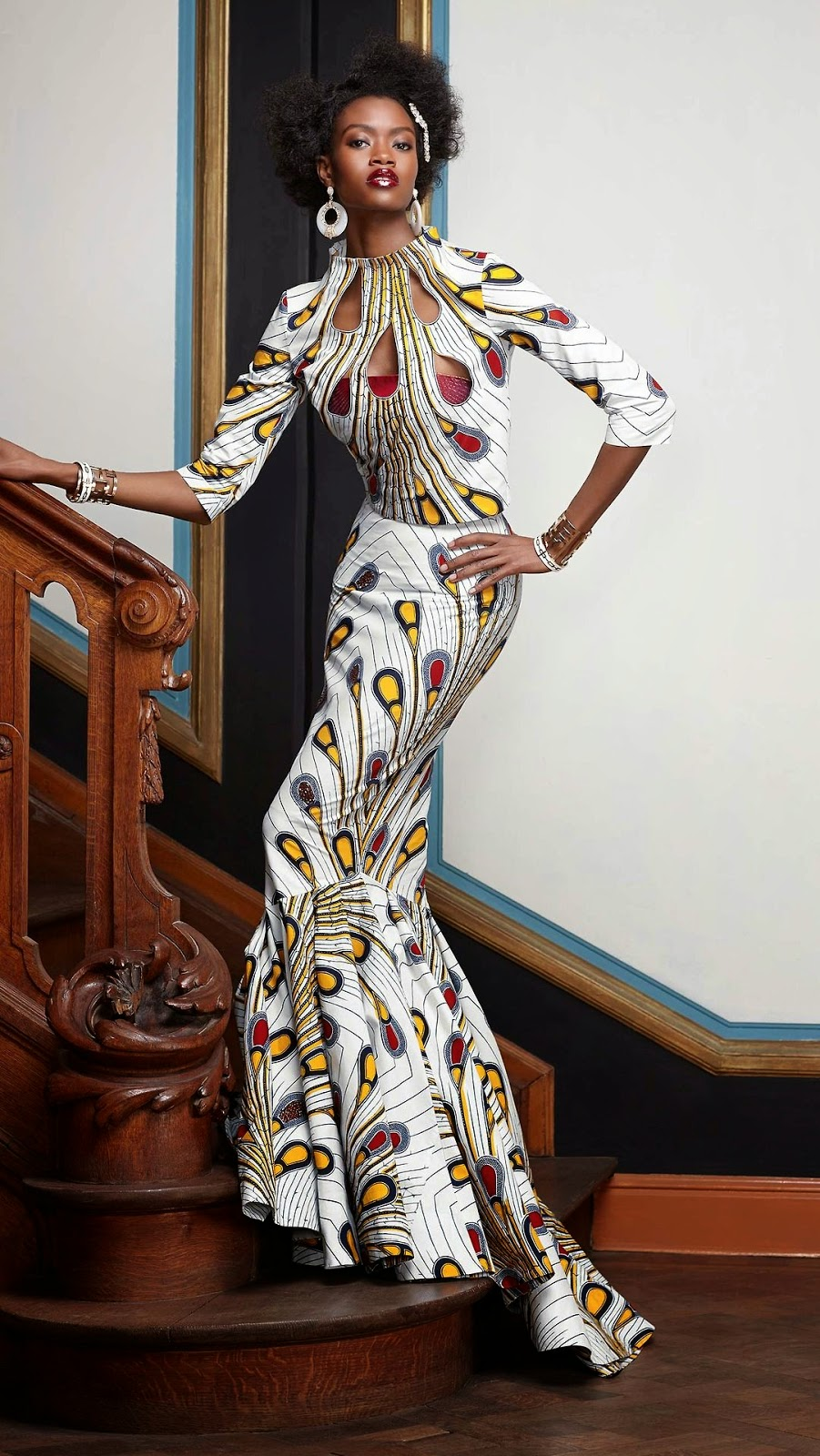 African Prints Inspiration Vlisco Splendeur Collection
