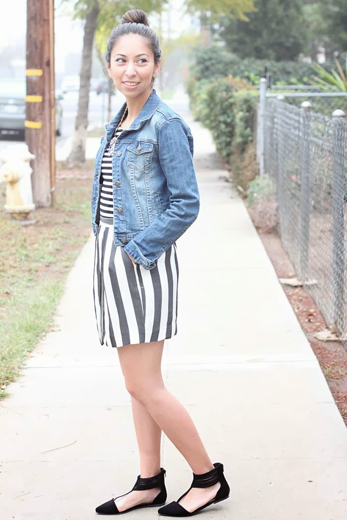 how to mix stripes