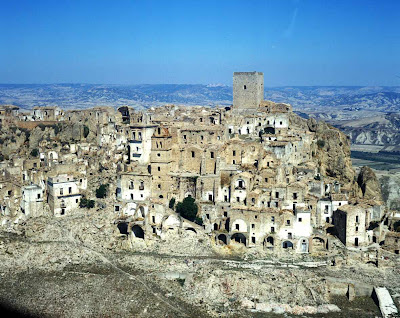 Craco: cidade fantasma da Itália