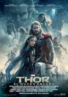 Cartel definitivo y nuevo tráiler de 'Thor: El mundo oscuro', protagonizada por Chris Hemsworth