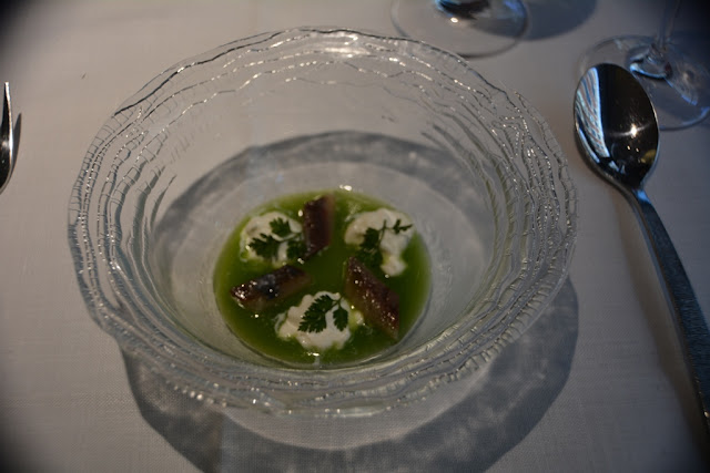 álbora restaurant Madrid sardine