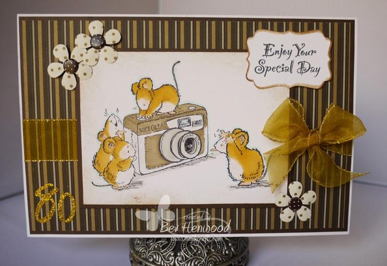 Majik Crafts Happy 80th Birthday – Photographer Birthday Card