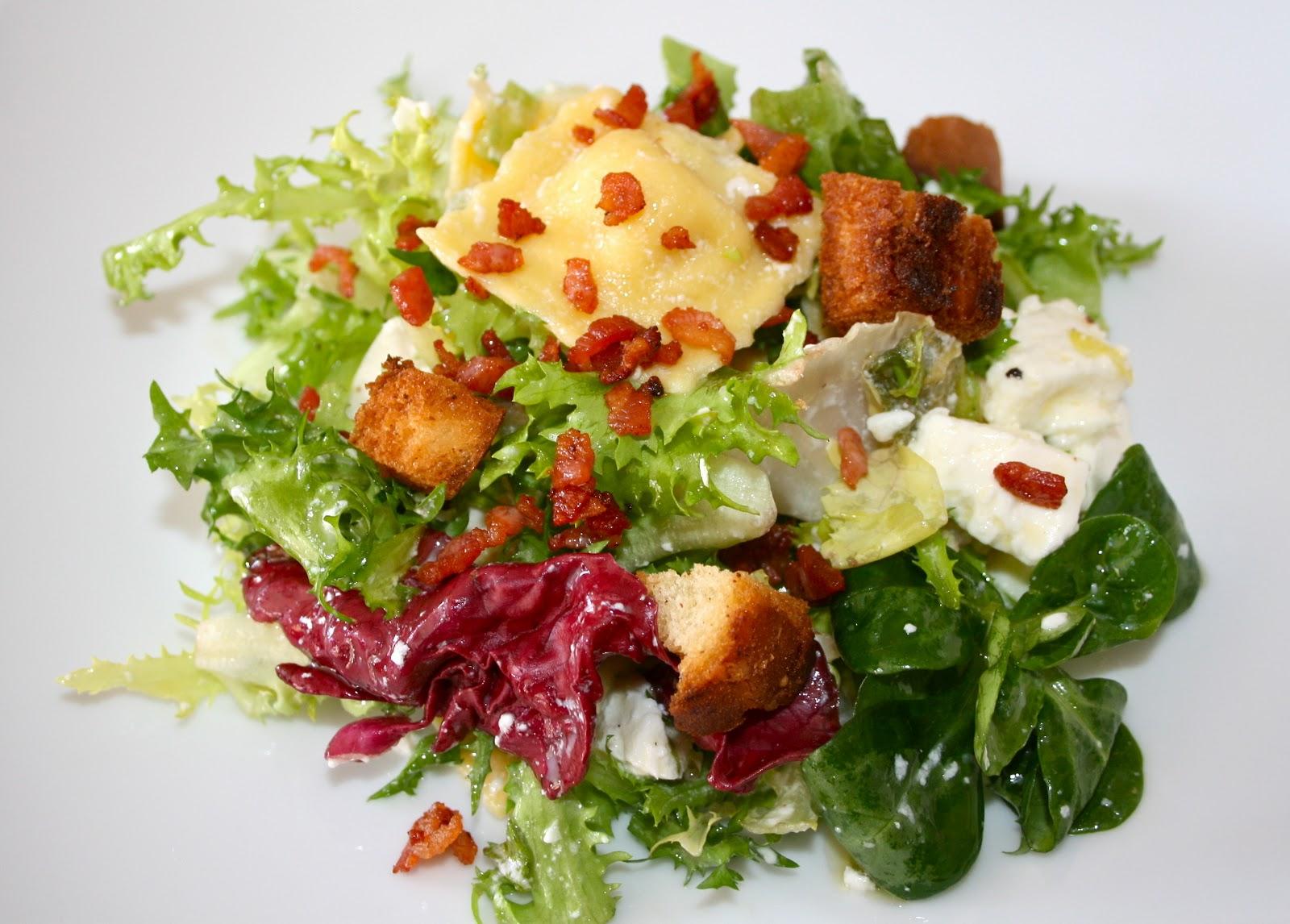 La cocinita de daiana ensalada francesa for Verduras tipicas de francia