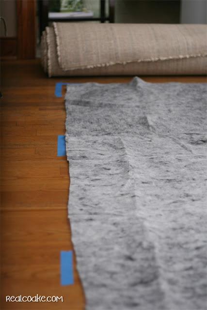 Home Decorating Ideas using an IKEA Rug. #Decorating #Rug #IKEA #RealCoake