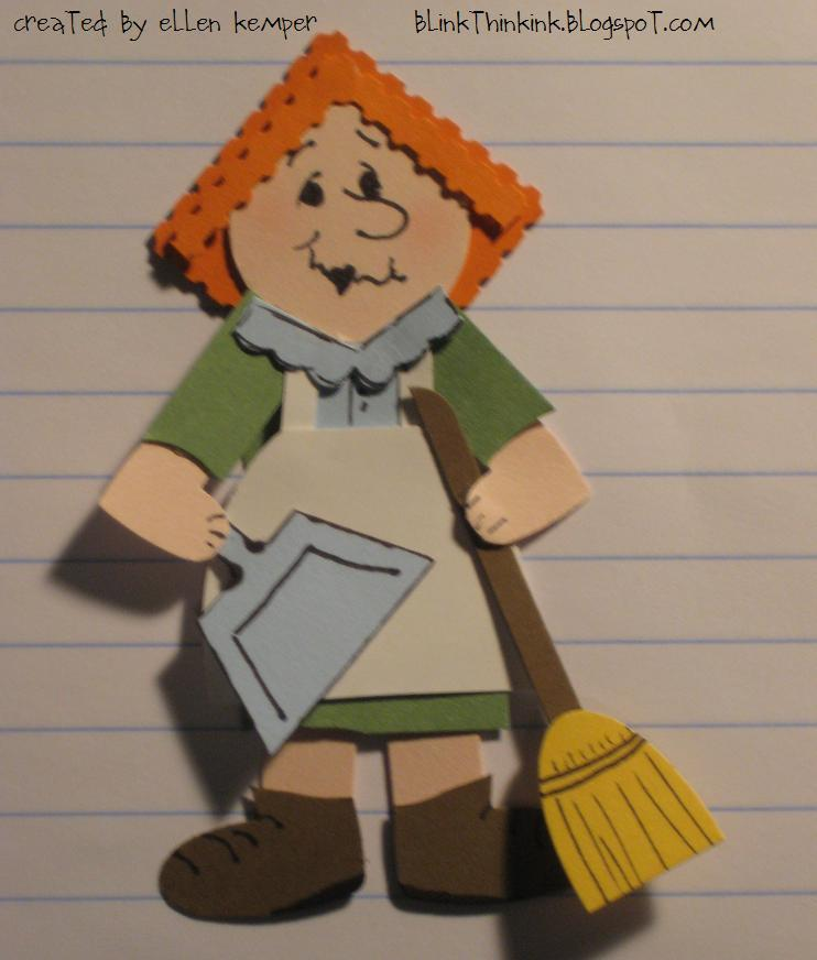 Carol Burnett as Cleaning Lady http://blinkthinkink.blogspot.com/2012/04/cleaning-lady.html